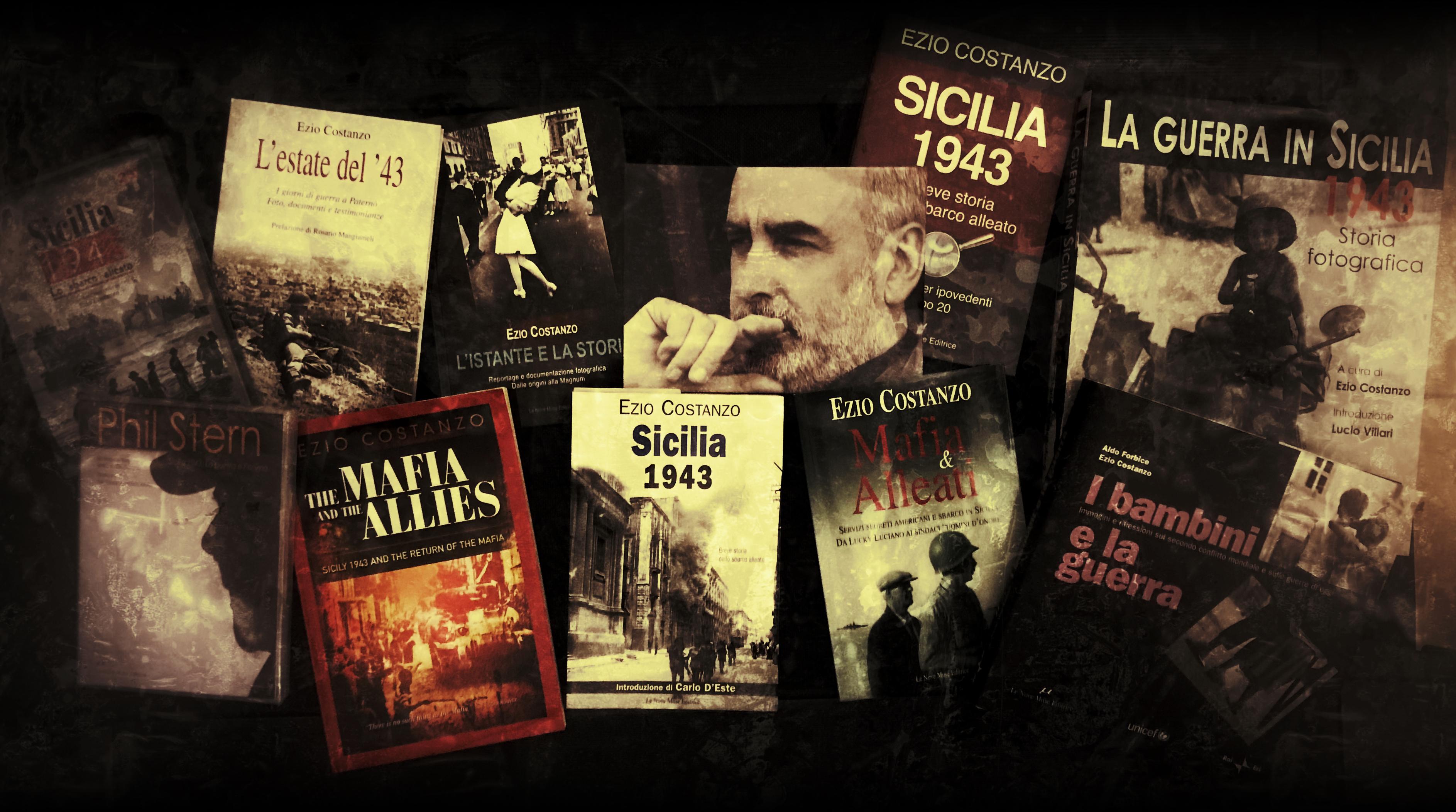 Ezio Costanzo lo storico che ha riportato Phil Stern in Sicilia